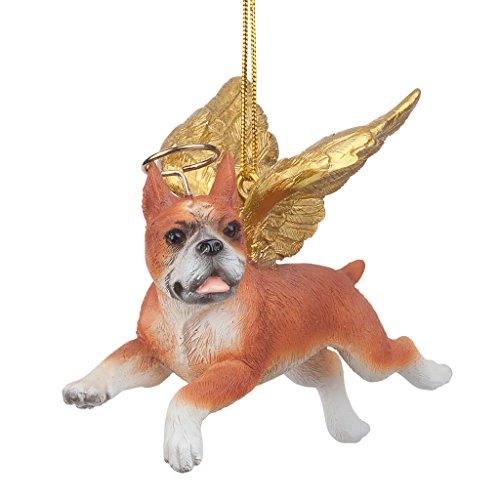 Christbaumschmuck - Honor Die Pooch Boxer Feiertags-Engels-Hundeornamente (Engel Boxer)