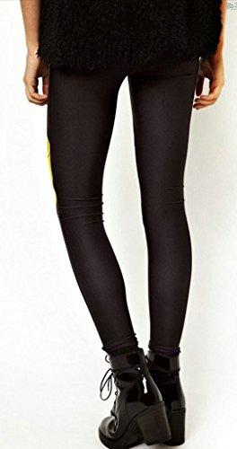 Home4Garden - Legging de sport - Jegging - Imprimé Animal - Femme M Noir