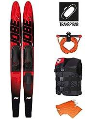 "Jobe Allegre Ski nautique Rouge Taille 59"""