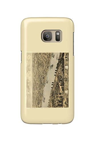 Jefferson City, Missouri - Panoramic Map (Galaxy S7 Cell Phone Case, Slim Barely There) (Jefferson City Missouri)