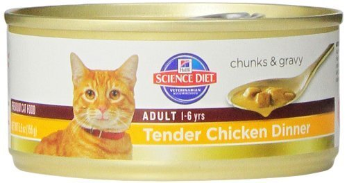 hills-science-diet-adult-tender-chicken-dinner-chunks-and-gravy-cat-food-can-55-ounce-24-pack-by-hil