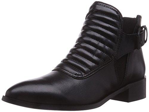 Buffalo London Damen BB BLUMA AUTOLUCIDO Chelsea Boots, Schwarz (NEGRO 01), 36 EU