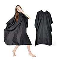 Aoforz-jumobao Outdoor Waterproof Hairdressing Cloth Adult Camping Hiking Cape Gown Wrap Black Hairdresser Cape Multifunction Camping Mat