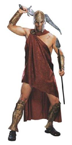 Rubie's Spartaner Deluxe Herrenkostüm aus Frank Miller's 300, Größe:XL