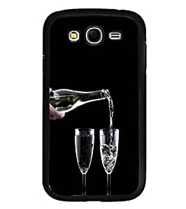 YuBingo Samsung Galaxy Grand Max G720 2D Designer Phone Back Case Cover ( Glass and Bottle )