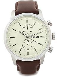 17dec1af9e05 Fossil pulsera de reloj fs-4865 piel marrón 24 mm (solo el correa de