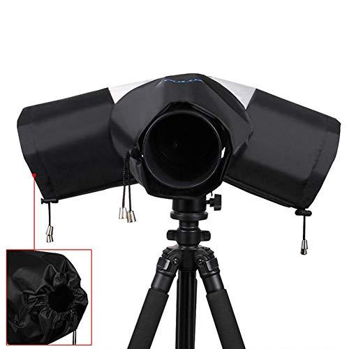 True-Ying Fotocamera parapioggia parapioggia Professionale per Grandi Fotocamere DSLR Canon, Nikon, Impermeabile Universale Custodia per Fotocamera