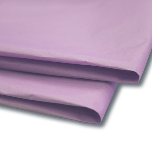 Preisvergleich Produktbild 100x Papier Seidenpapier/Geschenkpapier/Blatt (50,8x 76,2cm) lavendel