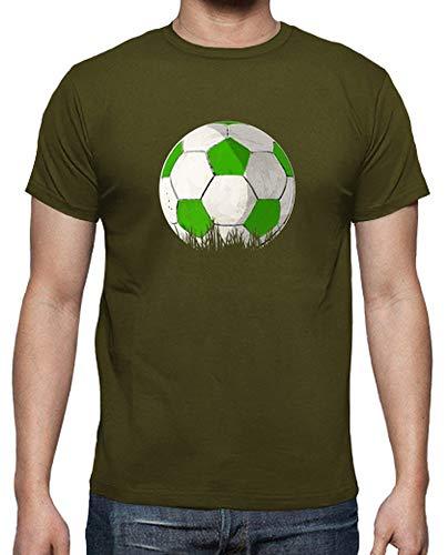 Latostadora - Camiseta Balon Verde Hombre Army XL