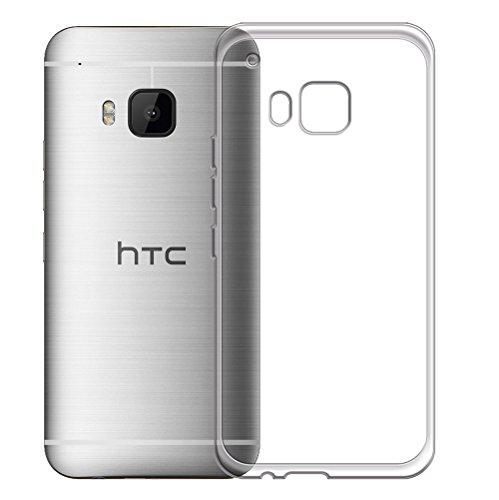 Minto Schutzhülle und Panzerglasfolie für iPhone 7 / iPhone 8 Hülle TPU Case Silikon Crystal Cover Durchsichtig Ultradünn 0.6mm (verkleinerte Folien, aufgrund der Wölbung des Displays) One M9