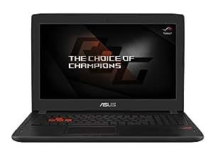 Asus GL502VM-FY230T 15.6-Inch Full HD Laptop (7th Gen Intel Core i7-7700HQ/16 GB/256 GB+1 TB/Windows 10/6GB NVIDIA GeForce GTX1060), Myst Black