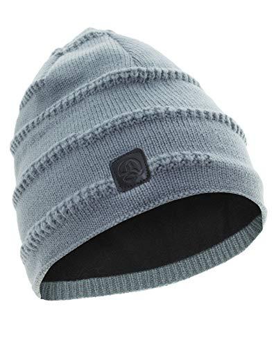 Ternua ® stumark Bonnet de Laine, Homme Taille Unique Gris (Granite)