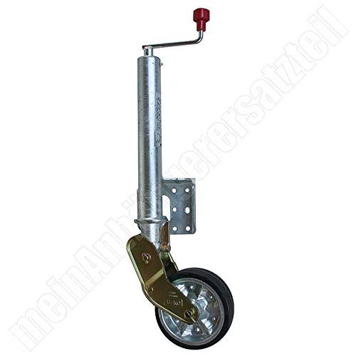 AL-KO Schwerlast Stützrad Bugrad für Pkw Anhänger 200x50mm 300kg / 500kg