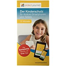 Protect Your Kid Lizenz für 12 Monate - Android Kindersicherungs App, Kinderschutz für Handy, Smartphone und Tablet