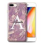 eSwish Personnalisé Mode Marbre Pierre Coutume Coque Gel/TPU pour Apple iPhone 8...