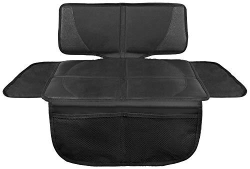 Lionstrong - coprisedile auto per seggiolino bimbo - protettore di sedili auto - compatibile isofix (nero piccolo)