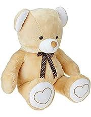 Amazon Brand- Jam and Honey Beige Teddy 3.5 Feet Standing