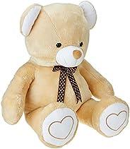 Amazon Brand- Jam & Honey Beige Teddy 3.5 Feet Stan
