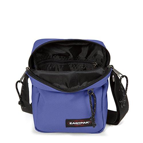 Eastpak The One Borsa a Tracolla, 2.5 Litri, Grigio (Black Denim) Viola (Insulate Purple)