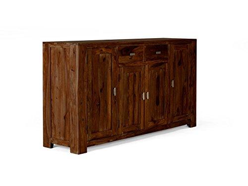 massivum Sideboard Monrovia 175x95x45 cm Palisander braun lackiert