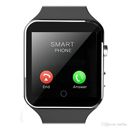 Karbonn A6 Turbo Compatible X6 Bluetooth Smart Watch All Apple iPhone, Samsung , Lenovo, XIOMI, REDMI Oppo, VIVO, Motorola,IOS, Windows All 3G,4G Phone With Camera and Sim Card Support With Apps like Facebook and WhatsApp Touch Screen QQ, WeChat, Twitter, Time Schedule, Read Message or News, Sports, Health, Pedometer, Sedentary Remind & Sleep Monitoring, Better Display, Loud Speaker, Microphone Multilanguage Android/IOS with activity trackers and fitness band features by vell- tech  available at amazon for Rs.2899