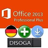 Microsoft Office 2013 Professional Plus 32/64Bit DISOGA® USB-Stick inkl. Lizenzkey
