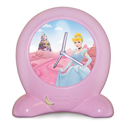 Worlds Apart 255DPS01E - Go Glow Disney Princess 2-in-1 Nachtlicht und Wecker, pink