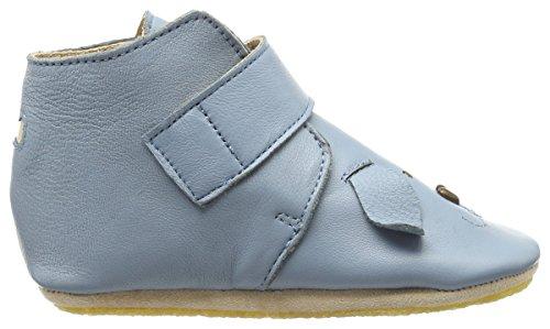 Easy Peasy Kiny Chien, Chaussons pour enfant mixte bébé Bleu azur