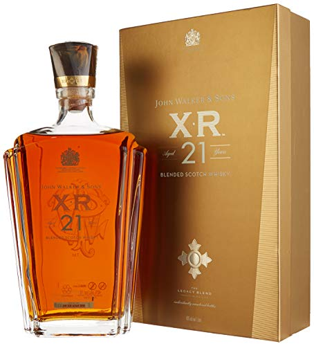 Johnnie Walker & Sons XR 21 Years Old The Legacy Blend Whisky mit Geschenkverpackung (1 x 1 l)