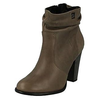 Harley Davidson Ladies Heeled Ankle Boots Stone Brook 2