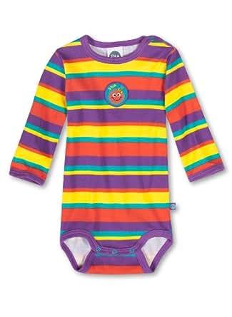 Sanetta Baby - Mädchen Body, gestreift 321403, Gr. 86, Mehrfarbig (6296)