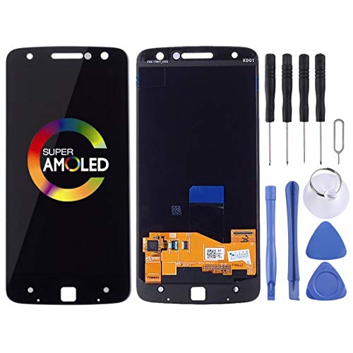 LIWIN Accessori per Smartphone Schermo LCD e digitalizzatore Assemblaggio Completo, Sostituzione Parti di Riparazione for Motorola Moto Z Droid XT1650-01 XT1650-03