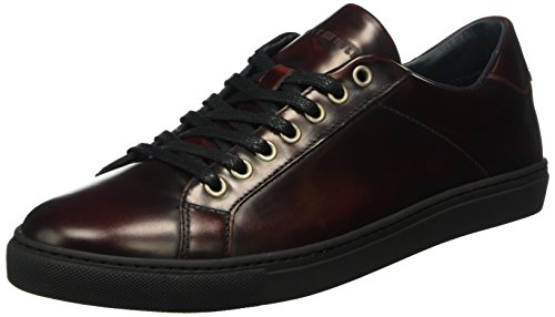 Tommy Hilfiger M2285ount 4z, Scarpe Low-Top Uomo, Marrone (Braun (BURGUNDY 619)), 45