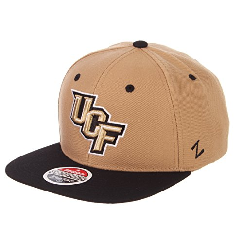 Zephyr Herren Central Florida UCF Knights Z11zwool Hat Khaki ADJ -