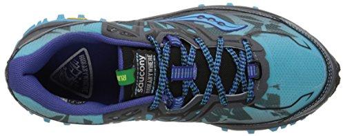 Saucony Xodus 6.0 Women's Trail Laufschuhe - SS16 Blue / Grey