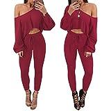 serliy 2 Stücke Frauen Trainingsanzug Sweatshirt Hosen Sets Sport Lounge Tragen Lässige Anzug