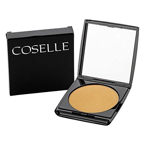 Coselle Mineral Powder Make-up, mit Mineralien-Korallen-Pulver, hautglättend, schützt vor UV- und IR-Strahlung, parabenfrei, made in Germany!