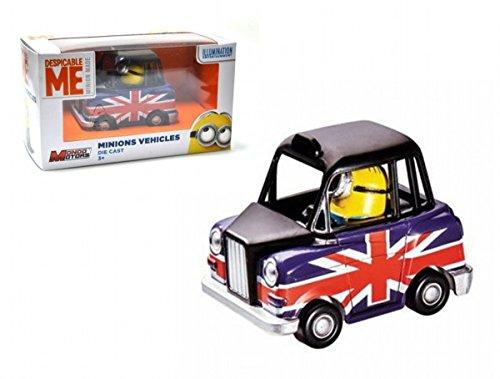 Mondo Motors Minions Taxi Fundido a presión Vehículos Minions Minions carros de juguete
