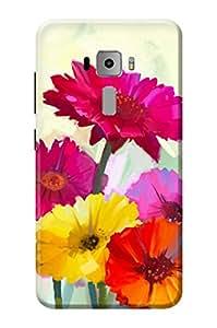 Asus Zenfone 3 ZE552KL Cover KanvasCases Premium Designer 3D Printed Hard Back Case(5.5 INCH)