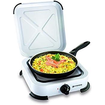 Plaque de cuisson gaz portable 1 feu - 1200 w - blanc laqué  Amazon ... f84ee7d2ab51