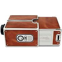 Topker DIY Mini Versión 2.0 Cartón proyector portátil de teléfono del hogar móvil para Smartphones para el Teatro casero
