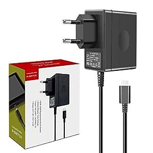YCCTEAM Netzteil für Nintendo Switch, Ladegerät für Nintendo Switch PD Typ-C Ladegerät TV-Modus Unterstützt, Reise Ladegerät Charger für Nintendo Switch / Switch Lite und Andere Typ C Geräte