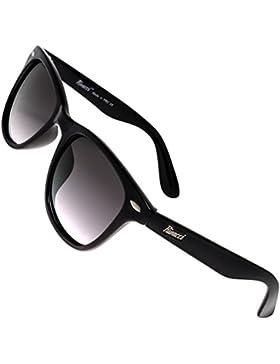Rivacci Gafas de Sol de Moda Polarizadas estilo Wayfarer / Aviador / Clubmaster - Outlet Sunglasses - Marca Retro...