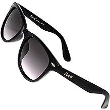 0c80ad1595 Rivacci Gafas de Sol Polarizadas Hombre Mujer – Marca Retro/Vintage –  Lentes Deportivas -