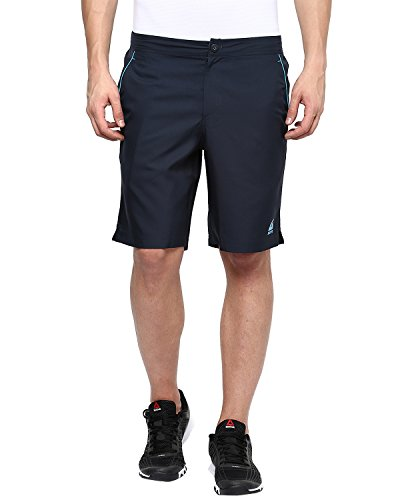 Aurro Sports Navy Tennis Shorts
