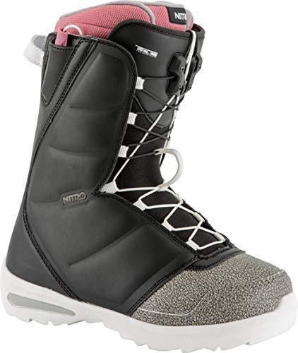 Nitro Snowboards Damen Flora TLS '19 Snowboardschuhe Black/Pink 26.5