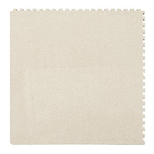 JIAJUAN-Puzzlematte Baby Ineinandergreifend Schaumstoffmatten Kinder Quadrat Puzzle Fliesen Mehrzweck Wohnzimmer Bereich Teppich Fußboden Spielmatte, 7 Farben (Color : F, Size : 30x30x1cm-9 Piece) (Quadrat X 8 Fliese 8)