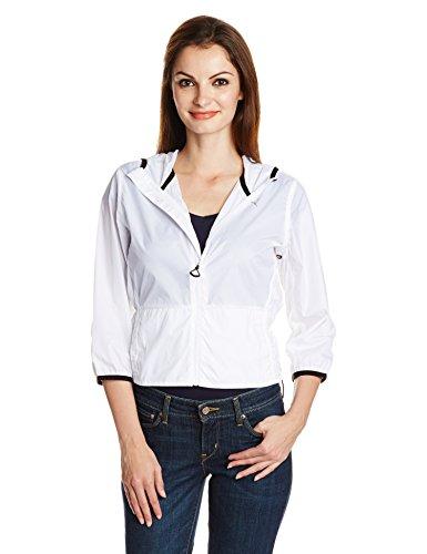 Puma Cat Woven Jacket (PUMA Damen Jacke WT Clash Woven Jacket, White, L, 512769 01)