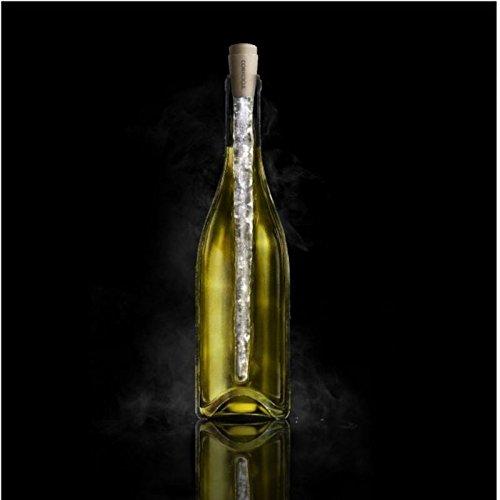 Corkcicle Original Weinkühler - Corkcicle mit Korken Weinflaschenkühler Corkcicle Transparent Bar