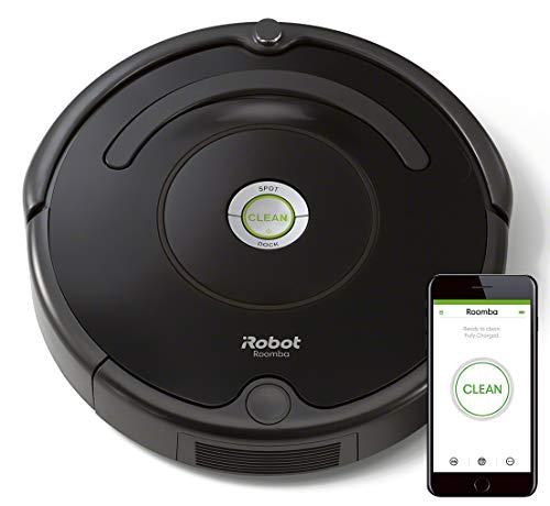 IRobot Roomba 671 Robot aspirador suelos duros y alfombras, tecnología Dirt Detect, limpieza en 3 fases...